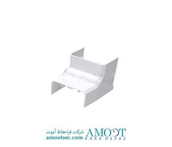 زاویه داخلی  داکت پلاستیکی ساده