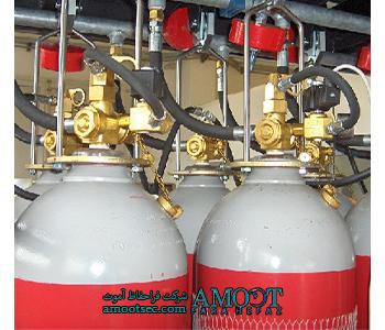 سیستم اطفای گازی یوروگاردینCO2
